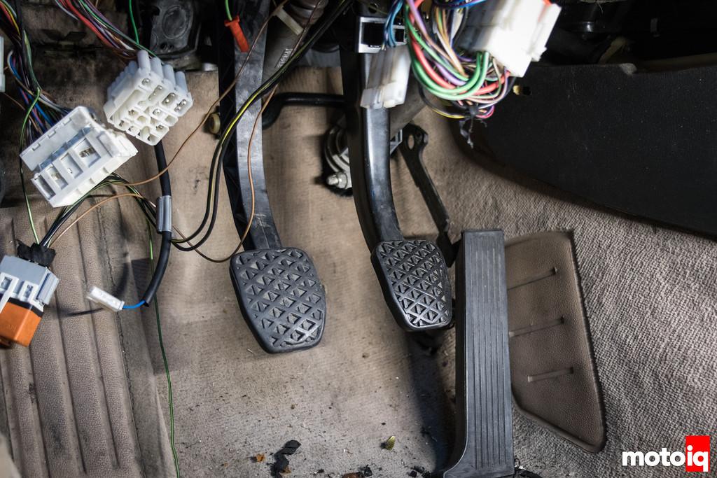 E30 manual pedal box