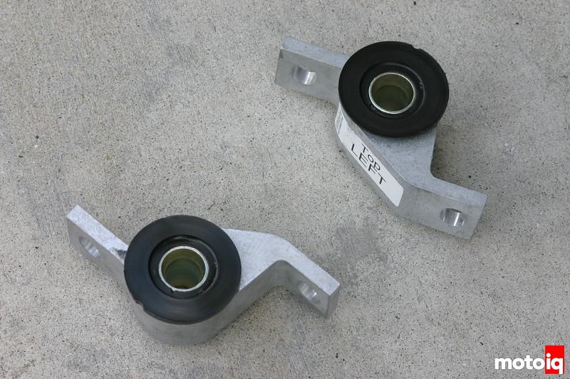Whiteline's race anti lift kit for WRX STI