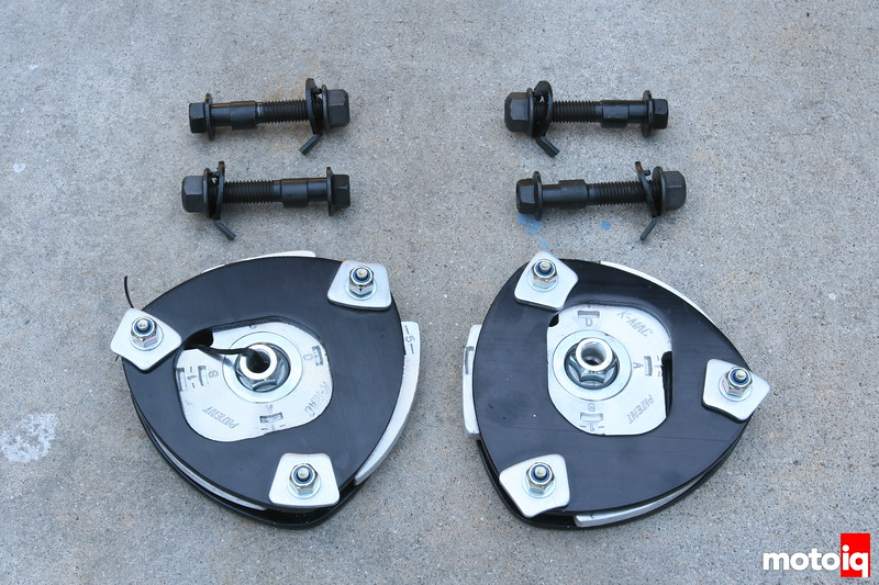 Wild Pony Camber Plates and Camber bolts