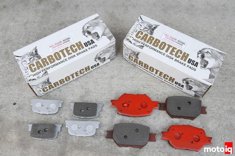 Carbotech XP11 pads