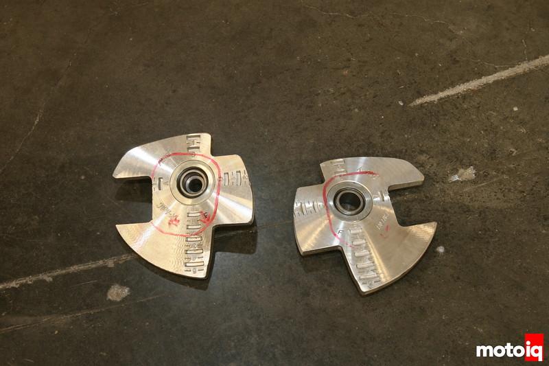 Modifed Scion TC camber plates