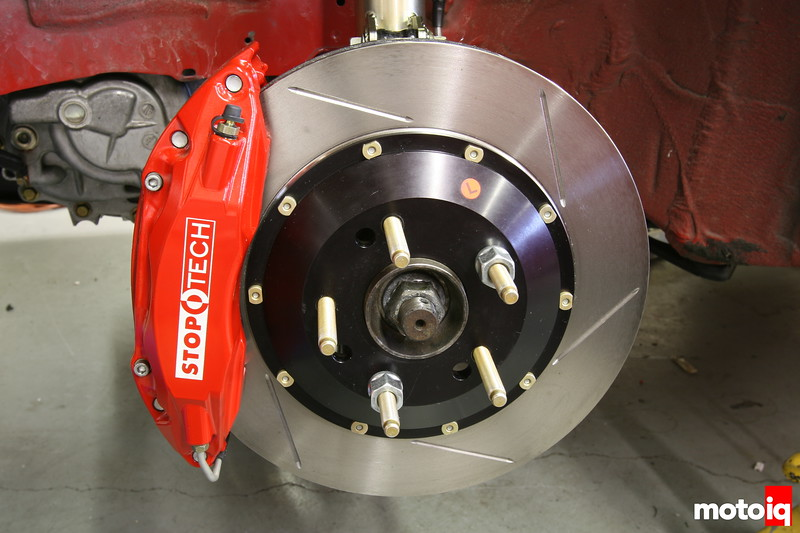 Project Nissan Sentra Spec-V Part 6: Modifying the Brake System