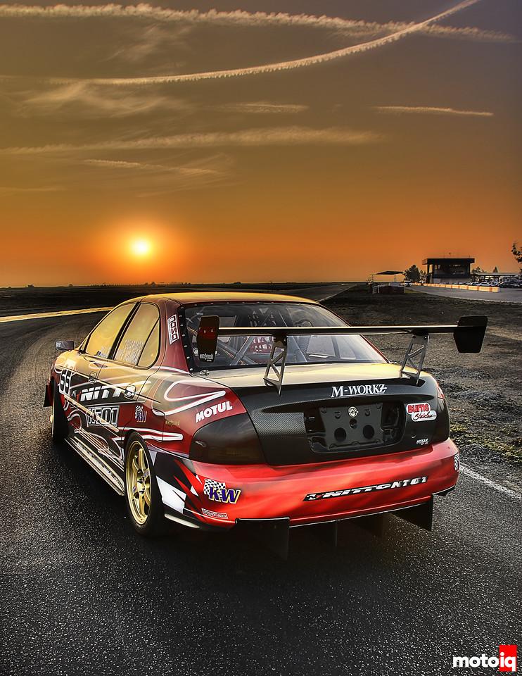 Project Nissan B15 Sentra Spec-V