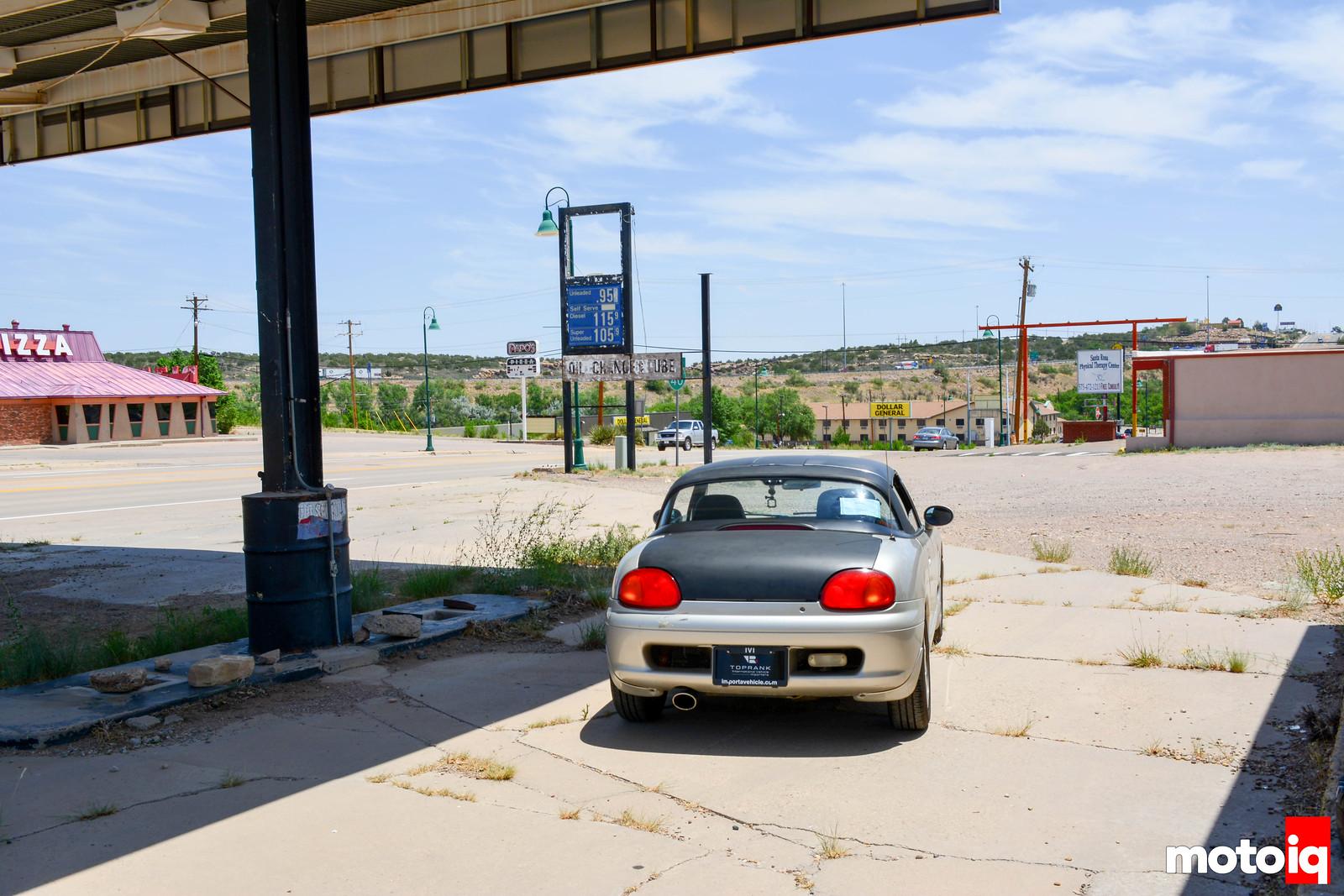 Cappuccino Abandoned Santa Rosa Gas Station