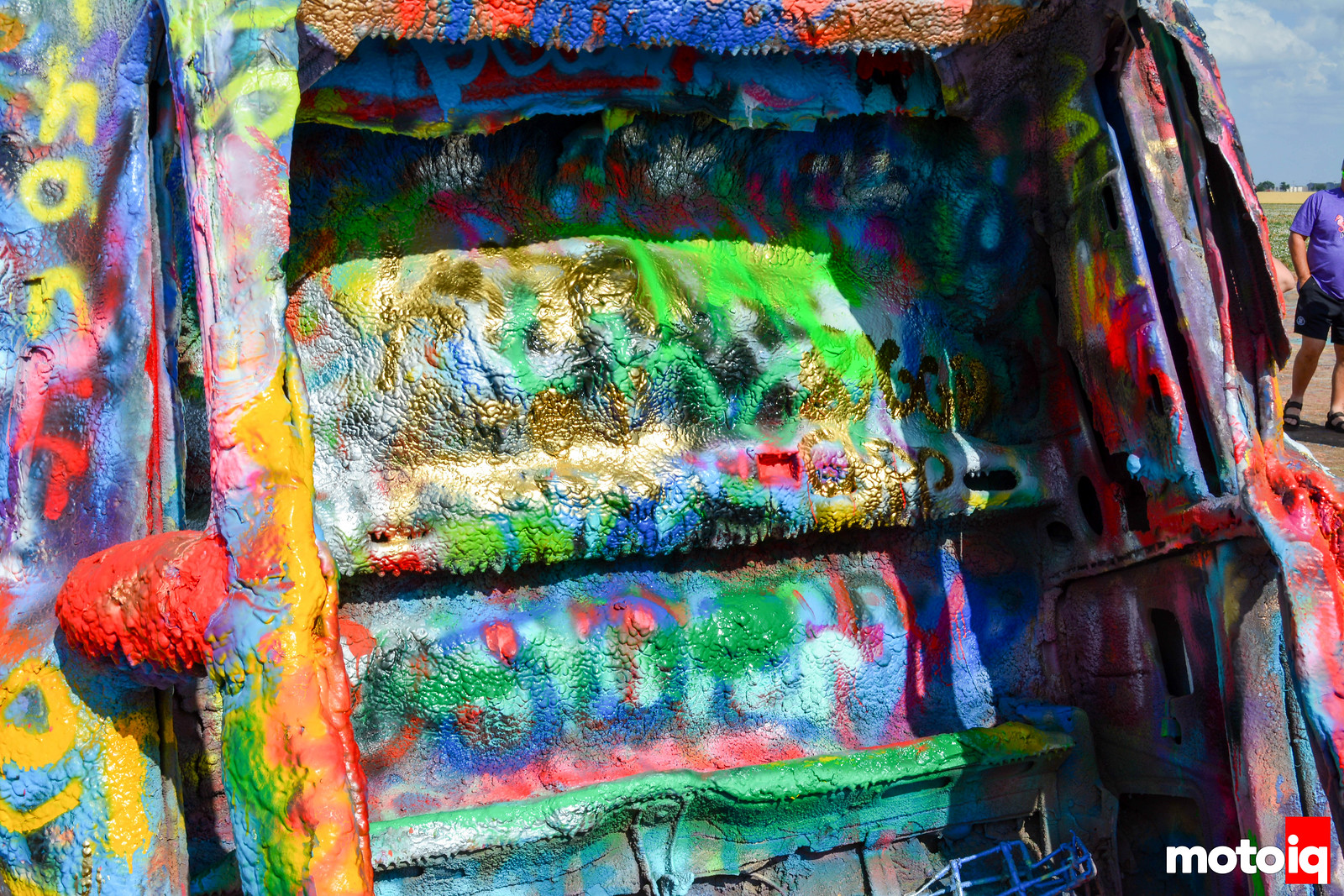 Cadillac Ranch Closeup