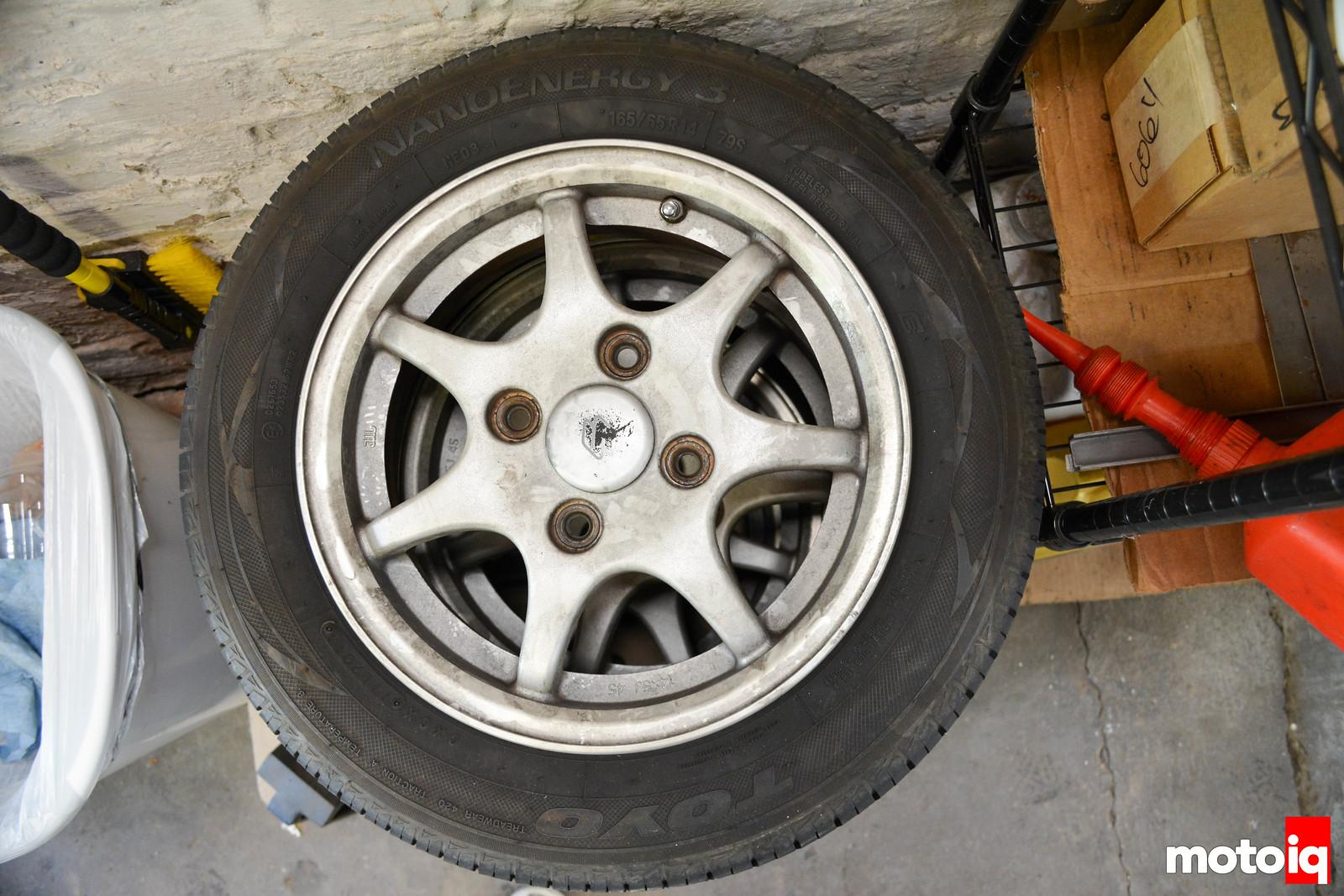 Original Cappuccino Wheels & Tires