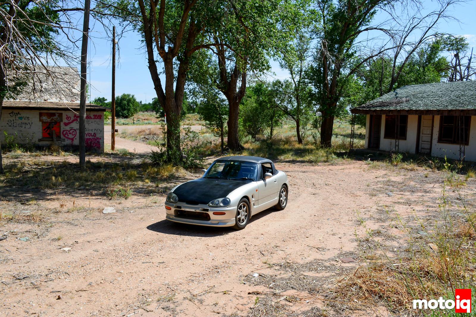 Abandoned Glenrio Motel