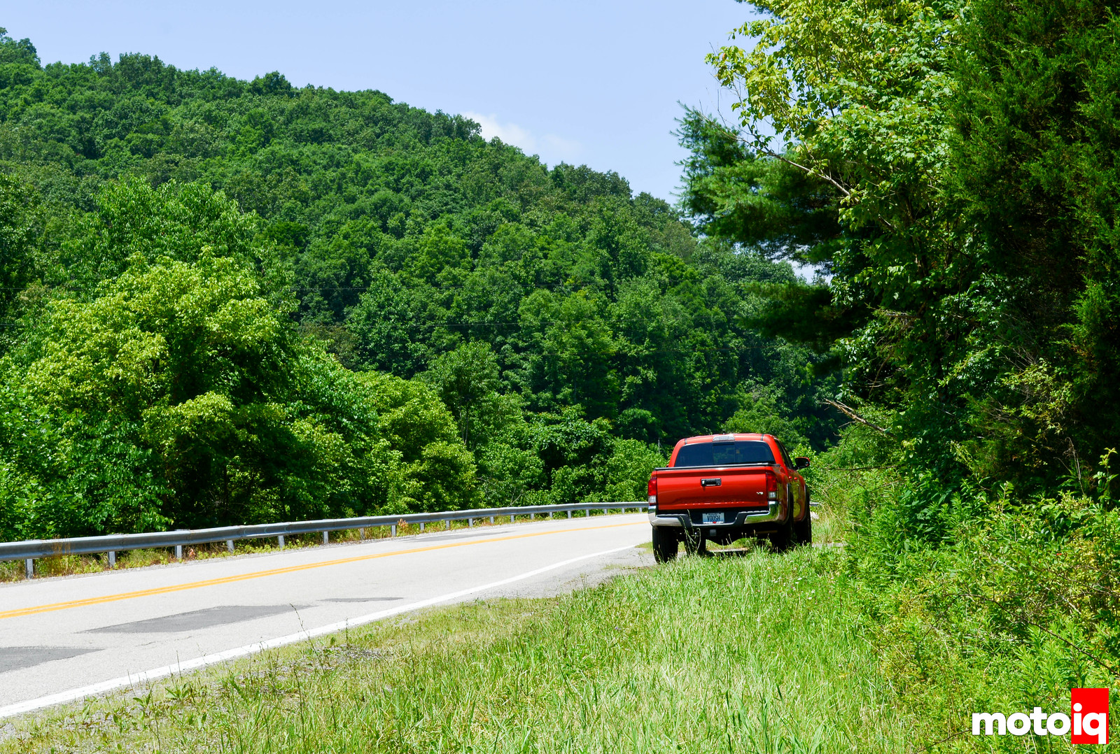 Tacoma in the West Virginia Mountains