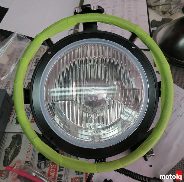 TE610 Baja Designs racelight Boatman adapter ring