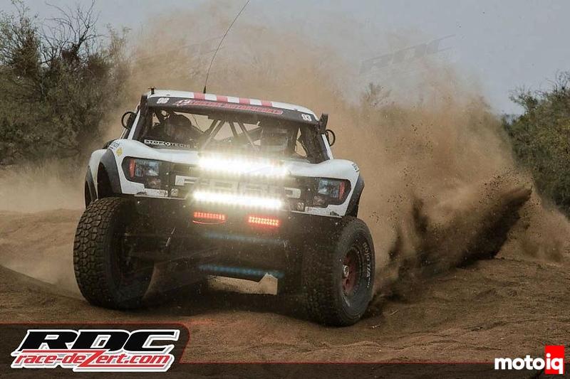 TE610 Baja Designs Chris Kemp Trophy Truck