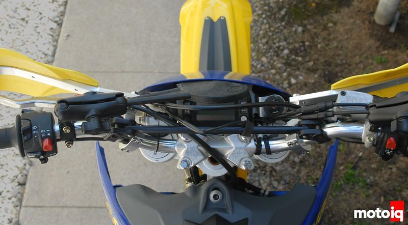 te610 handlebar reverse flipped mount