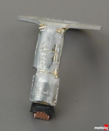 TE610 ring terminal bent cracked