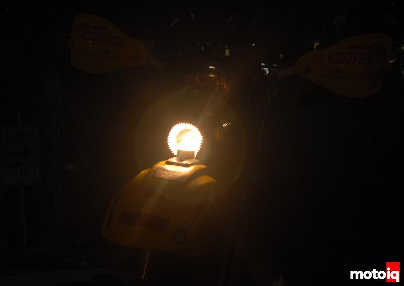 TE610 stock headlight birthday candle muffin cup
