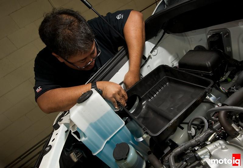 Project Toyota Tundra TRD Intake