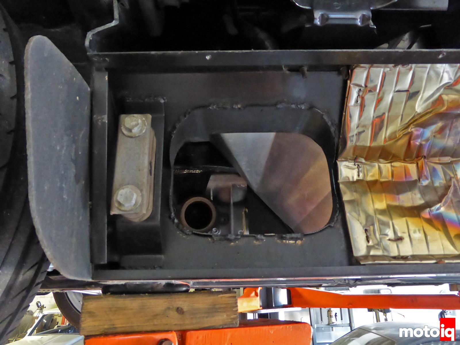 Viper GTS Gen 2 exhaust pass through side sill