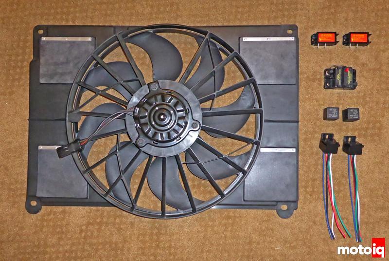 Viper Radiator Fan NoSparc Circuit breakers