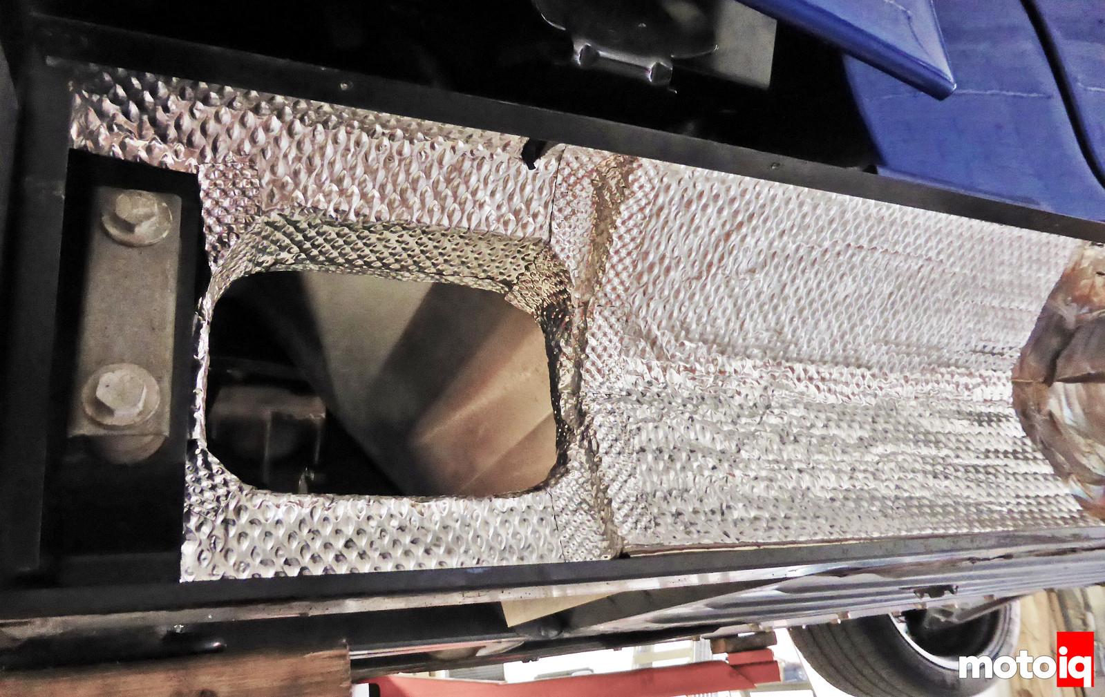 Viper GTS HeatShield Products HP Stickyshield side sill