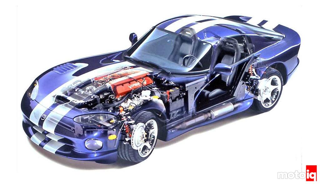Viper GTS Cutaway