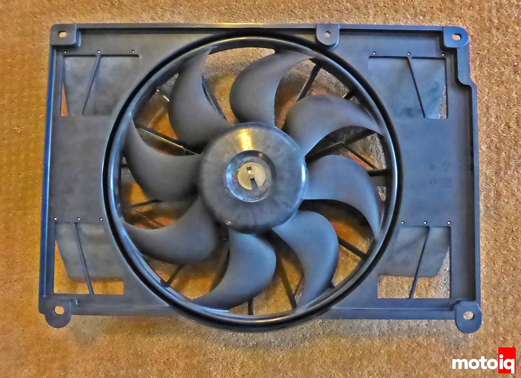New fan flaps underside