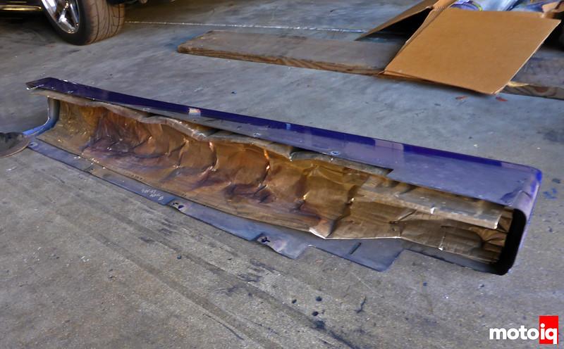 Viper GTS Side Sill Heat Shield
