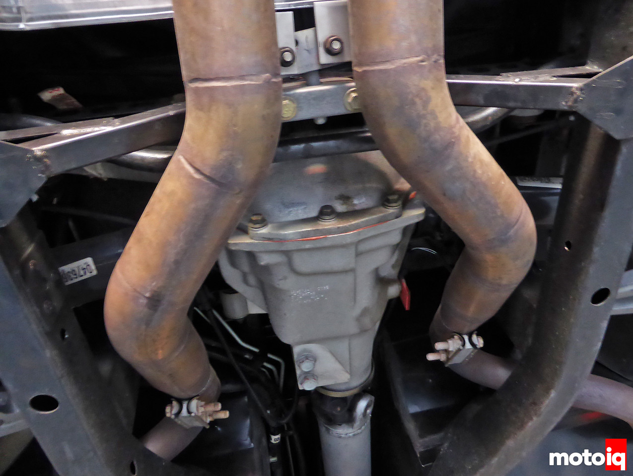 Viper Differential Exhaust