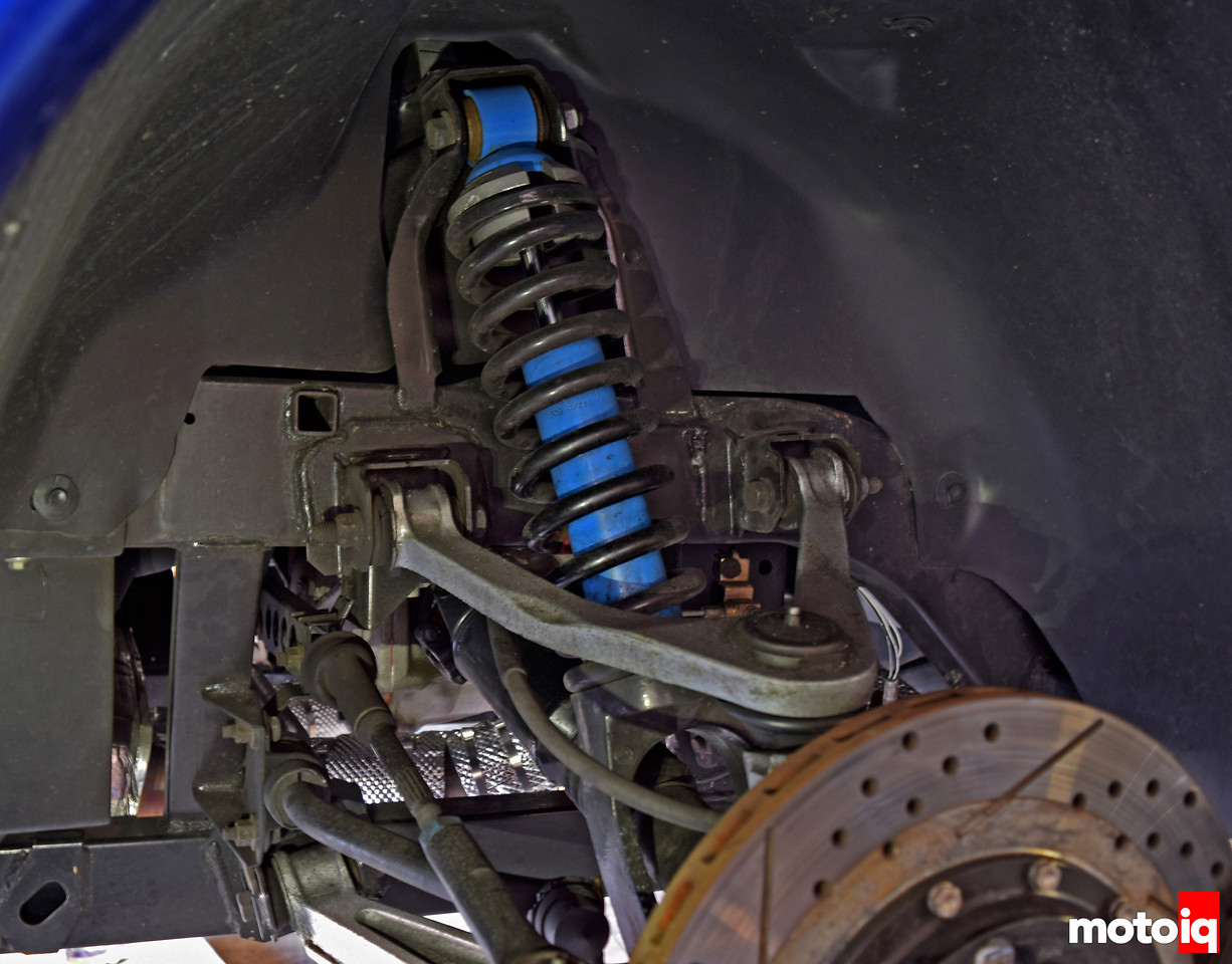 Viper GTS Gen 2 Rear Suspension Stock