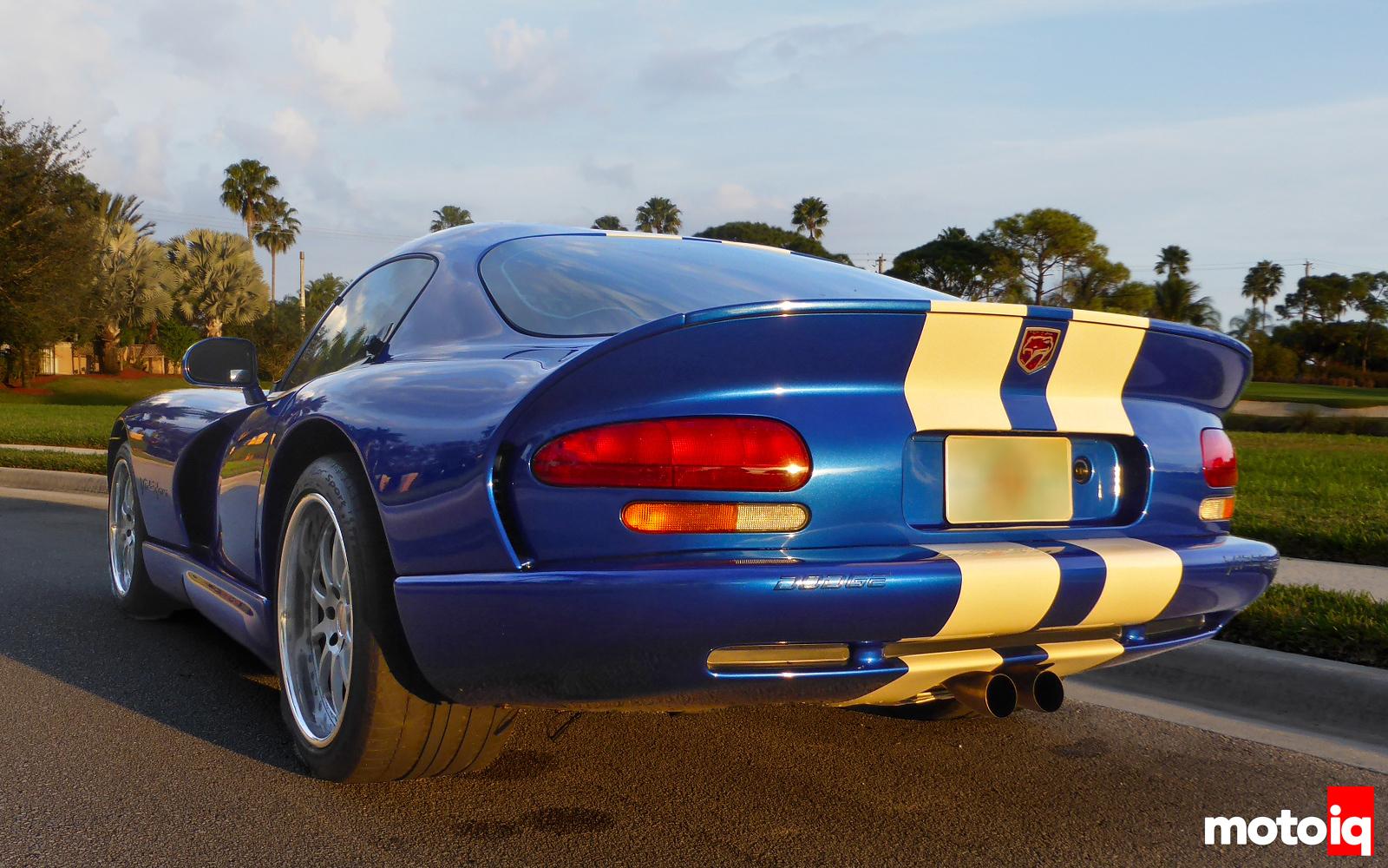 Viper GTS Stock Rear