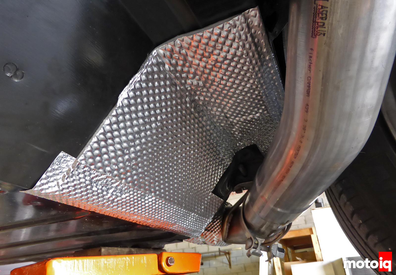 Viper Heatshield Products HP Stickyshield under seat