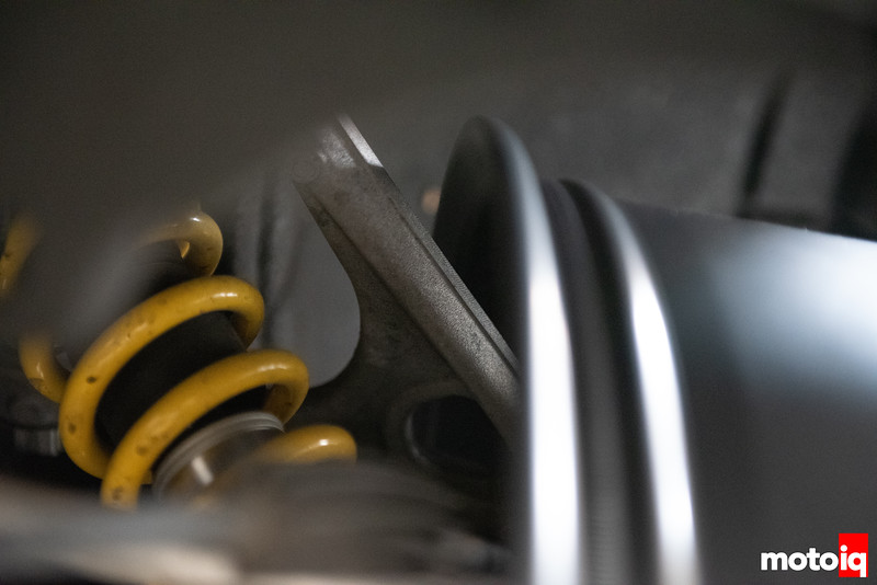 rear upper control arm to wheel clearance