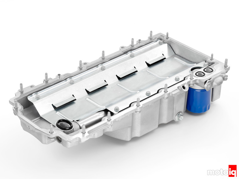 "2014 ""LT-1"" 6.2L V-8 VVT DI (LT1) Oil Pan and Windage Tray"