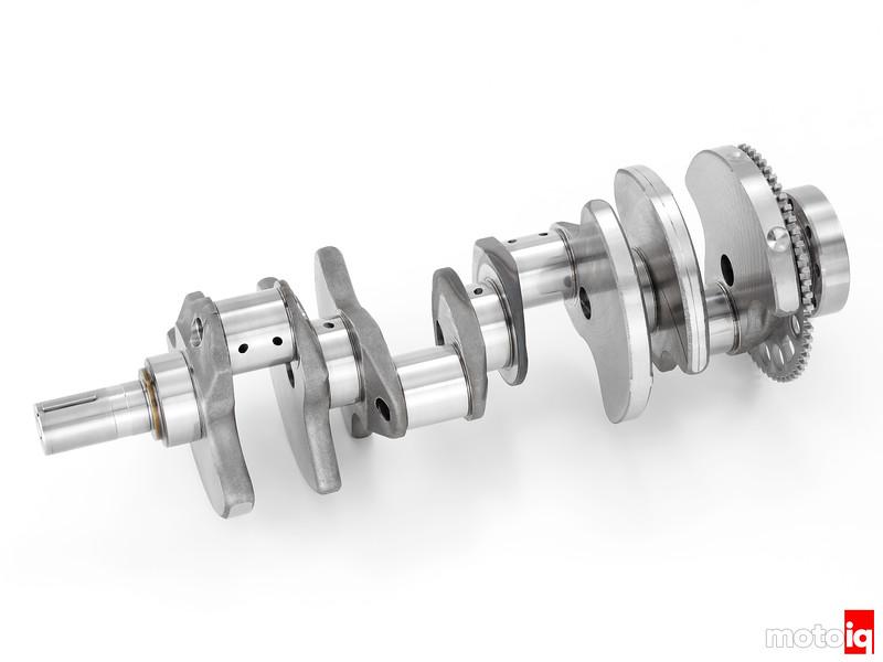 """2014 """"LT-1"""" 6.2L V-8 VVT DI (LT1) Crankshaft"""