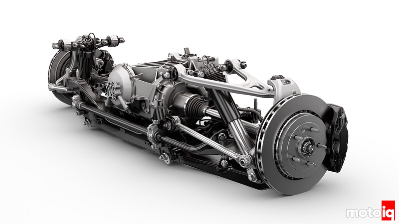 2014 Chevrolet Corvette Stingray Rear Suspension