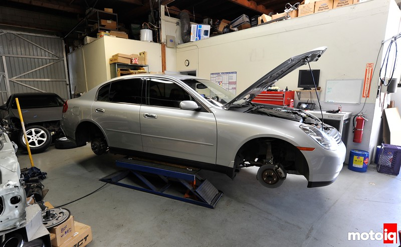 Project Infiniti G35 Part 2: Improving Stopping Power with Brembo, Project Mu and DBA