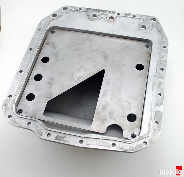 inside oil pan