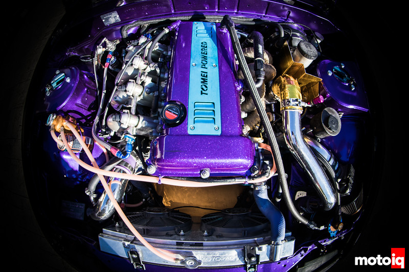 Nikita's SR20 engine bay