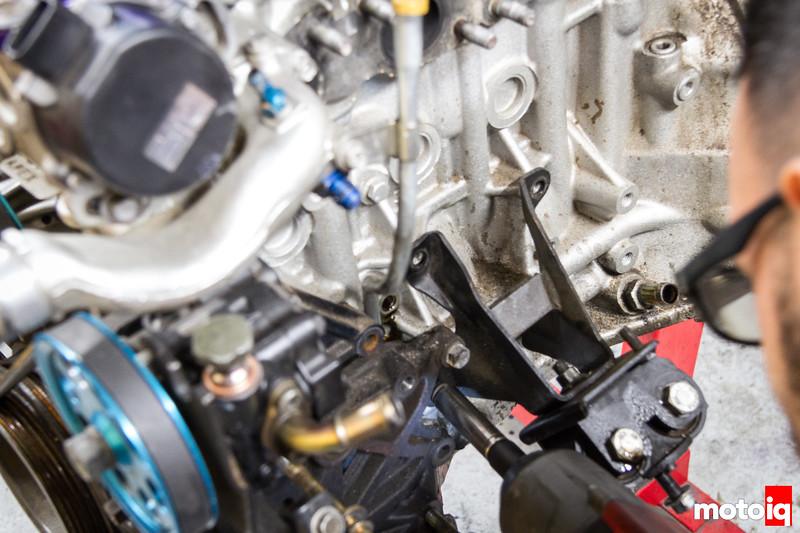 Removing SR20 motor mounts
