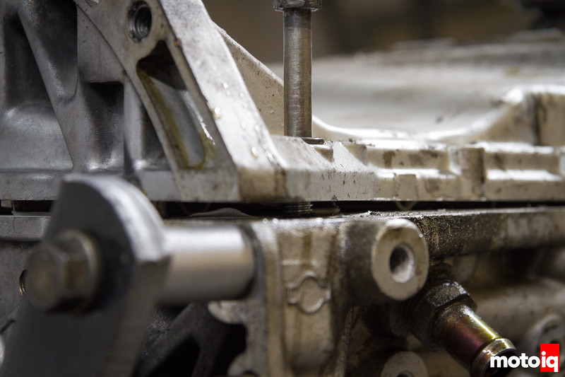 Separating SR20 upper oil pan