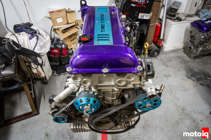 SR20 with manifolds removed
