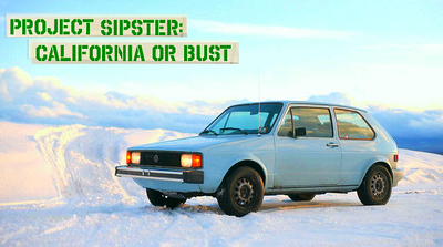Project Sipster part 4 California or Bust