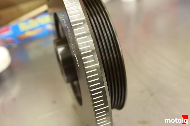 Fluidampr crank damper 2JZ-GTE supra
