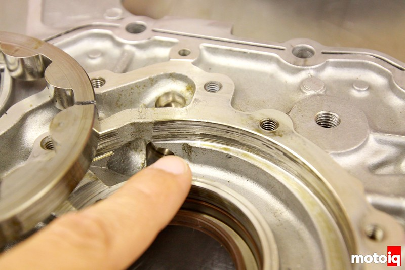 stock oil pump cracked gear 2JZ-GTE Supra turbo