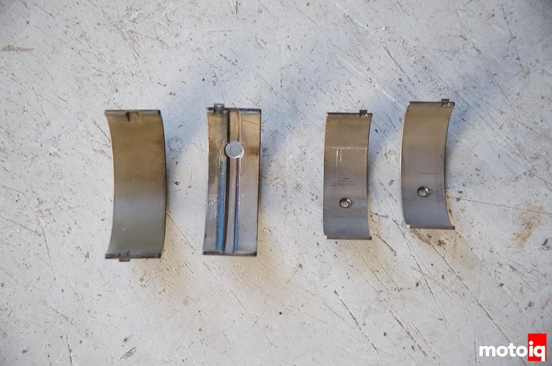 Oil holes in bearings
