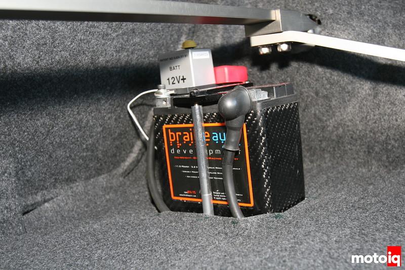 braille battery installation