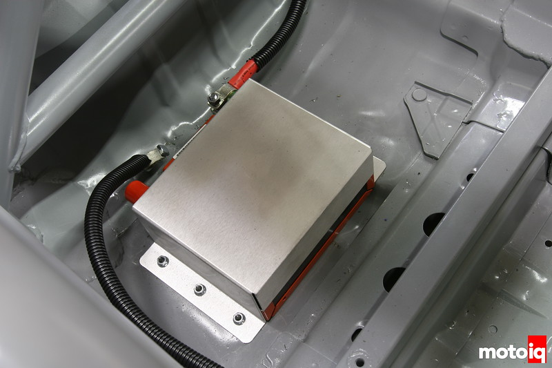 odessey battery mount