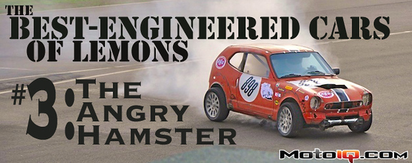Best engineered cars of lemons 3 - the angry hamster