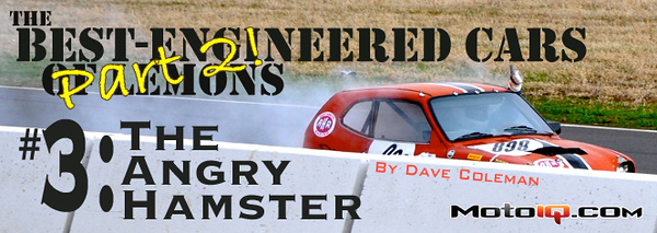 Best engineered cars of lemons 3 - the angry hamster part II