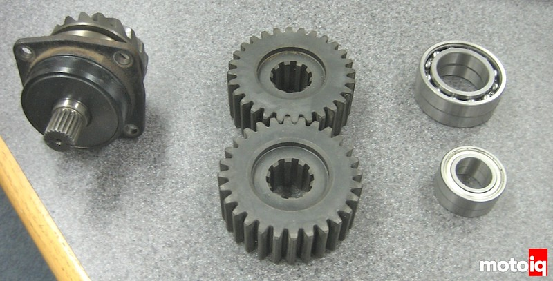 Angry hamster quick change gears