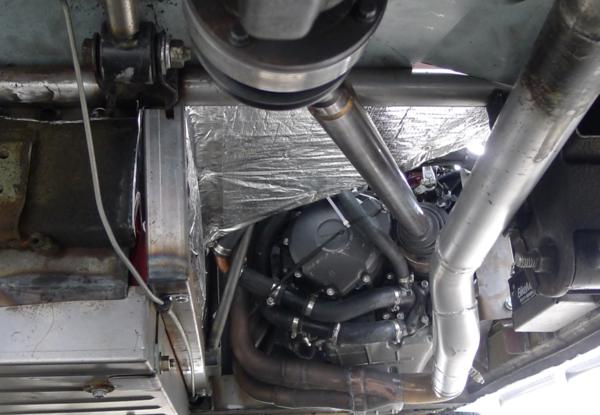 24 Hours of LeMons Angry Hamster Honda Z600 CBR1000