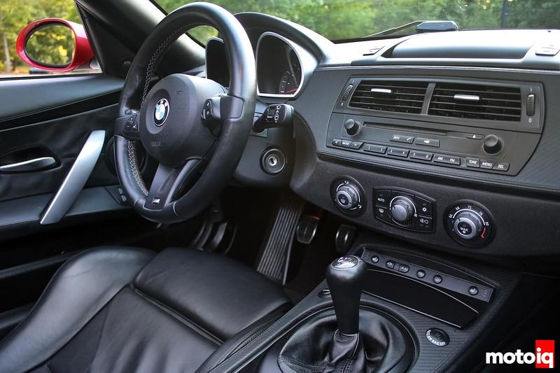 2006 E85 Z4M Interior