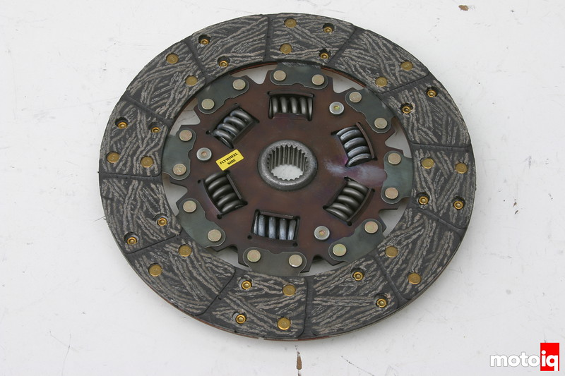 dual friction disc